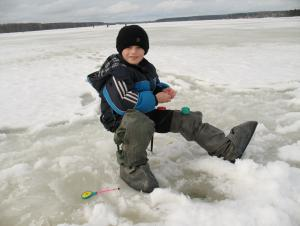 Молодчага что сынулю к активному отдыху на природе приобщаешь. Первый